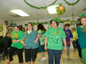 St. Patrick's Day Celebration Main Campus 2014